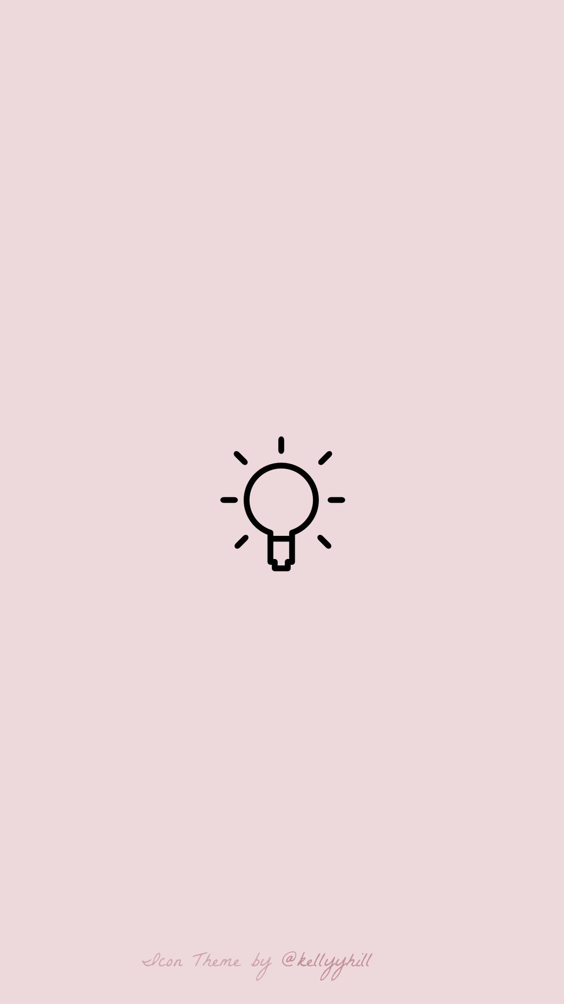 Light Pink Camera Icon
